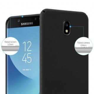 Cadorabo Hülle für Samsung Galaxy J5 2017 in METALL SCHWARZ ? Hardcase Handyhülle aus Plastik gegen Kratzer und Stöße ? Schutzhülle Bumper Ultra Slim Back Case Hard Cover - Vorschau 4