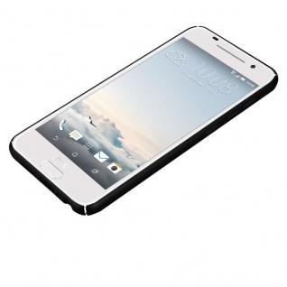 Cadorabo Hülle für HTC One A9 in METALL SCHWARZ - Hardcase Handyhülle aus Plastik gegen Kratzer und Stöße - Schutzhülle Bumper Ultra Slim Back Case Hard Cover - Vorschau 3