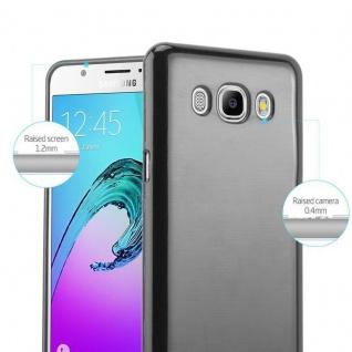 Cadorabo Hülle für Samsung Galaxy J5 2016 in SCHWARZ - Handyhülle aus flexiblem TPU Silikon - Silikonhülle Schutzhülle Ultra Slim Soft Back Cover Case Bumper - Vorschau 2