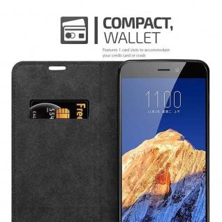 Cadorabo Hülle für ZTE Nubia N1 in APFEL ROT Handyhülle mit Magnetverschluss, Standfunktion und Kartenfach Case Cover Schutzhülle Etui Tasche Book Klapp Style - Vorschau 3