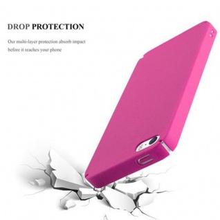 Cadorabo Hülle für Apple iPhone 5 / iPhone 5S / iPhone SE in FROSTY PINK - Hardcase Handyhülle aus Plastik gegen Kratzer und Stöße - Schutzhülle Bumper Ultra Slim Back Case Hard Cover - Vorschau 4