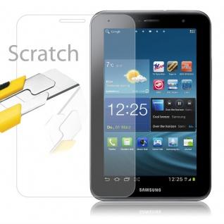 Cadorabo Panzer Folie für Samsung Galaxy TAB 2 (8 Zoll) - Schutzfolie in KRISTALL KLAR - Gehärtetes (Tempered) Display-Schutzglas in 9H Härte mit 3D Touch Kompatibilität - Vorschau 2