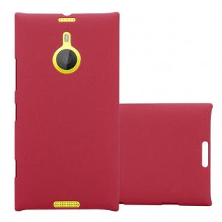 Cadorabo Hülle für Nokia Lumia 1520 in FROSTY ROT - Hardcase Handyhülle aus Plastik gegen Kratzer und Stöße - Schutzhülle Bumper Ultra Slim Back Case Hard Cover