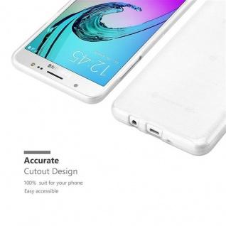 Cadorabo Hülle für Samsung Galaxy J5 2016 in SILBER - Handyhülle aus flexiblem TPU Silikon - Silikonhülle Schutzhülle Ultra Slim Soft Back Cover Case Bumper - Vorschau 5