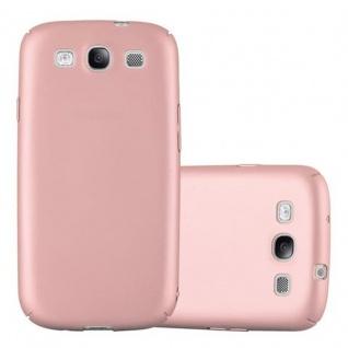 Cadorabo Hülle für Samsung Galaxy S3 / S3 NEO in METALL ROSE GOLD ? Hardcase Handyhülle aus Plastik gegen Kratzer und Stöße ? Schutzhülle Bumper Ultra Slim Back Case Hard Cover