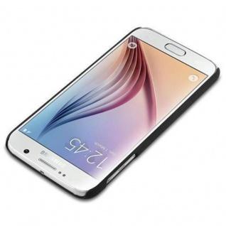 Cadorabo Hülle für Samsung Galaxy S6 in WOODY BLAU ? Hardcase Handyhülle aus Plastik gegen Kratzer und Stöße ? Schutzhülle Bumper Ultra Slim Back Case Hard Cover - Vorschau 2