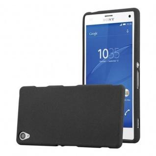 Cadorabo Hülle für Sony Xperia Z3 in FROST SCHWARZ - Handyhülle aus flexiblem TPU Silikon - Silikonhülle Schutzhülle Ultra Slim Soft Back Cover Case Bumper