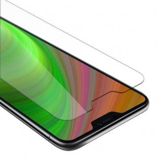 Cadorabo Panzer Folie für Xiaomi Mi A2 LITE / RedMi 6 PRO - Schutzfolie in KRISTALL KLAR - Gehärtetes (Tempered) Display-Schutzglas in 9H Härte mit 3D Touch Kompatibilität