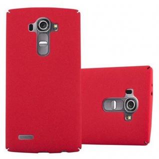 Cadorabo Hülle für LG G4 / G4 PLUS in FROSTY ROT - Hardcase Handyhülle aus Plastik gegen Kratzer und Stöße - Schutzhülle Bumper Ultra Slim Back Case Hard Cover