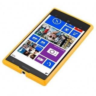 Cadorabo Hülle für Nokia Lumia 1020 in JELLY GELB - Handyhülle aus flexiblem TPU Silikon - Silikonhülle Schutzhülle Ultra Slim Soft Back Cover Case Bumper - Vorschau 2