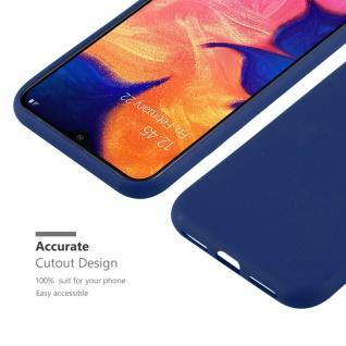 Cadorabo Hülle für Samsung Galaxy A10 in CANDY DUNKEL BLAU - Handyhülle aus flexiblem TPU Silikon - Silikonhülle Schutzhülle Ultra Slim Soft Back Cover Case Bumper - Vorschau 4