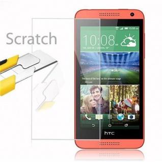Cadorabo Panzer Folie für HTC Desire 610 - Schutzfolie in KRISTALL KLAR - Gehärtetes (Tempered) Display-Schutzglas in 9H Härte mit 3D Touch Kompatibilität - Vorschau 2