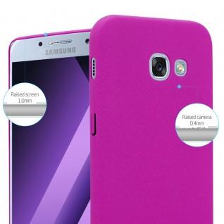 Cadorabo Hülle für Samsung Galaxy A3 2017 in FROSTY PINK - Hardcase Handyhülle aus Plastik gegen Kratzer und Stöße - Schutzhülle Bumper Ultra Slim Back Case Hard Cover - Vorschau 4