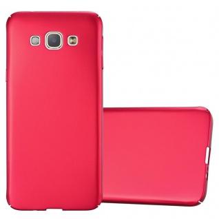 Cadorabo Hülle für Samsung Galaxy A8 2015 in METALL ROT ? Hardcase Handyhülle aus Plastik gegen Kratzer und Stöße ? Schutzhülle Bumper Ultra Slim Back Case Hard Cover