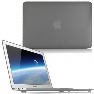 Cadorabo - Mattes HardCase für Apple MacBook PRO 15 (Zoll) ? Case Hartschale Schutzhülle Cover MacBook Tasche in GRAU - leicht und schützend