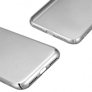 Cadorabo Hülle für Apple iPhone X / XS in METALL SILBER ? Hardcase Handyhülle aus Plastik gegen Kratzer und Stöße ? Schutzhülle Bumper Ultra Slim Back Case Hard Cover - Vorschau 5