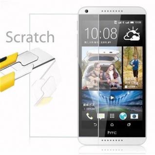 Cadorabo Panzer Folie für HTC Desire 816 - Schutzfolie in KRISTALL KLAR - Gehärtetes (Tempered) Display-Schutzglas in 9H Härte mit 3D Touch Kompatibilität - Vorschau 2
