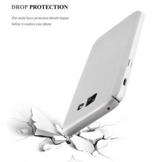 Cadorabo Hülle für Samsung Galaxy A5 2017 in METALL SILBER - Hardcase Handyhülle aus Plastik gegen Kratzer und Stöße - Schutzhülle Bumper Ultra Slim Back Case Hard Cover - Vorschau 5