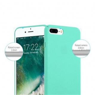Cadorabo Hülle für Apple iPhone 8 PLUS / iPhone 7 PLUS / iPhone 7S PLUS in FROSTY GRÜN - Hardcase Handyhülle aus Plastik gegen Kratzer und Stöße - Schutzhülle Bumper Ultra Slim Back Case Hard Cover - Vorschau 3