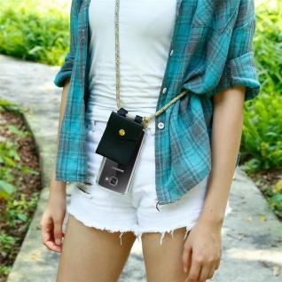Cadorabo Handy Kette für Samsung Galaxy A5 2016 in RAINBOW - Silikon Necklace Umhänge Hülle mit Gold Ringen, Kordel Band Schnur und abnehmbarem Etui ? Schutzhülle - Vorschau 4