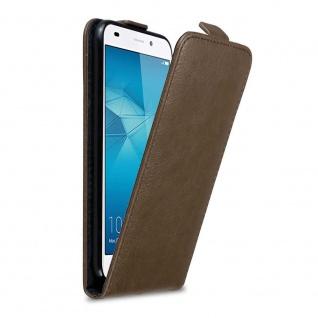Cadorabo Hülle für Honor 5C in KAFFEE BRAUN Handyhülle im Flip Design mit Magnetverschluss Case Cover Schutzhülle Etui Tasche Book Klapp Style