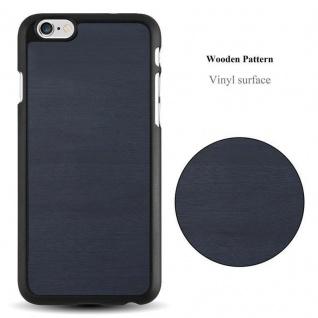 Cadorabo Hülle für Apple iPhone 6 PLUS / iPhone 6S PLUS in WOODY BLAU ? Hardcase Handyhülle aus Plastik gegen Kratzer und Stöße ? Schutzhülle Bumper Ultra Slim Back Case Hard Cover - Vorschau 2