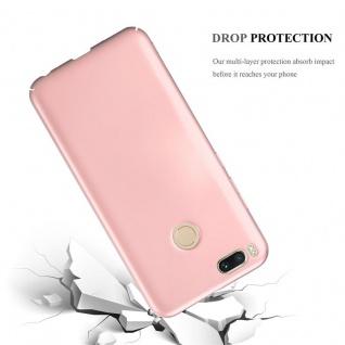 Cadorabo Hülle für Xiaomi Mi A1 / 5X in METALL ROSÉ GOLD ? Hardcase Handyhülle aus Plastik gegen Kratzer und Stöße ? Schutzhülle Bumper Ultra Slim Back Case Hard Cover - Vorschau 3