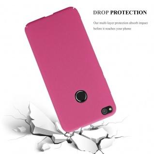 Cadorabo Hülle für Huawei P8 Lite 2017 in FROSTY PINK - Hardcase Handyhülle aus Plastik gegen Kratzer und Stöße - Schutzhülle Bumper Ultra Slim Back Case Hard Cover - Vorschau 3