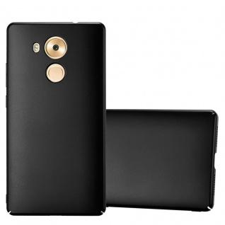 Cadorabo Hülle für Huawei MATE 8 in METALL SCHWARZ - Hardcase Handyhülle aus Plastik gegen Kratzer und Stöße - Schutzhülle Bumper Ultra Slim Back Case Hard Cover