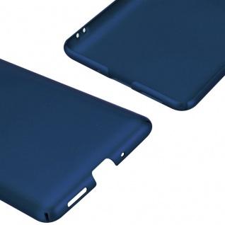 Cadorabo Hülle für Nokia 8 2017 in METALL BLAU ? Hardcase Handyhülle aus Plastik gegen Kratzer und Stöße ? Schutzhülle Bumper Ultra Slim Back Case Hard Cover - Vorschau 5