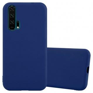 Cadorabo Hülle für Honor 20 PRO in CANDY DUNKEL BLAU Handyhülle aus flexiblem TPU Silikon Silikonhülle Schutzhülle Ultra Slim Soft Back Cover Case Bumper