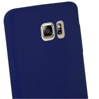 Cadorabo Hülle für Samsung Galaxy NOTE 5 in CANDY DUNKEL BLAU - Handyhülle aus flexiblem TPU Silikon - Silikonhülle Schutzhülle Ultra Slim Soft Back Cover Case Bumper - Vorschau 3