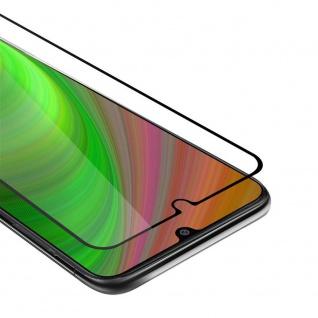 Cadorabo Vollbild Panzer Folie für Samsung Galaxy M31 Schutzfolie in TRANSPARENT mit SCHWARZ Gehärtetes (Tempered) Display-Schutzglas in 9H Härte mit 3D Touch