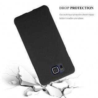 Cadorabo Hülle für Samsung Galaxy ALPHA in FROSTY SCHWARZ - Hardcase Handyhülle aus Plastik gegen Kratzer und Stöße - Schutzhülle Bumper Ultra Slim Back Case Hard Cover - Vorschau 3