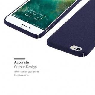 Cadorabo Hülle für Apple iPhone 6 PLUS / iPhone 6S PLUS in FROSTY BLAU - Hardcase Handyhülle aus Plastik gegen Kratzer und Stöße - Schutzhülle Bumper Ultra Slim Back Case Hard Cover - Vorschau 3