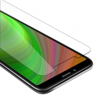 Cadorabo Panzer Folie für Xiaomi RedMi 7A - Schutzfolie in KRISTALL KLAR - Gehärtetes (Tempered) Display-Schutzglas in 9H Härte mit 3D Touch Kompatibilität