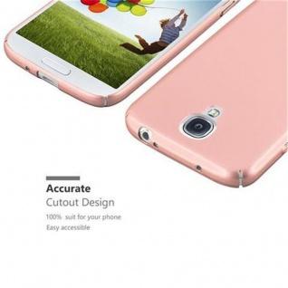 Cadorabo Hülle für Samsung Galaxy S4 in METALL ROSE GOLD - Hardcase Handyhülle aus Plastik gegen Kratzer und Stöße - Schutzhülle Bumper Ultra Slim Back Case Hard Cover - Vorschau 3
