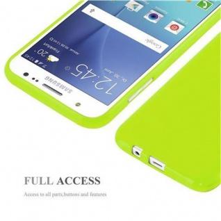 Cadorabo Hülle für Samsung Galaxy J5 2015 in JELLY GRÜN ? Handyhülle aus flexiblem TPU Silikon ? Silikonhülle Schutzhülle Ultra Slim Soft Back Cover Case Bumper - Vorschau 5