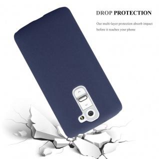 Cadorabo Hülle für LG G2 MINI in FROSTY BLAU - Hardcase Handyhülle aus Plastik gegen Kratzer und Stöße - Schutzhülle Bumper Ultra Slim Back Case Hard Cover - Vorschau 3