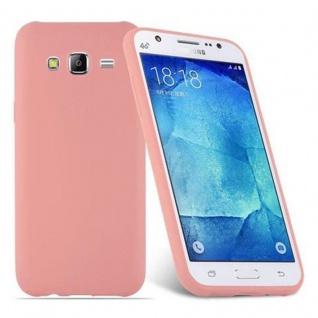 Cadorabo Hülle für Samsung Galaxy J5 2015 in CANDY ROSA - Handyhülle aus flexiblem TPU Silikon - Silikonhülle Schutzhülle Ultra Slim Soft Back Cover Case Bumper - Vorschau 2