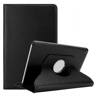 """"""" Cadorabo Tablet Hülle für Huawei MediaPad T1 8 (8, 0"""" Zoll) in HOLUNDER SCHWARZ ? Book Style Schutzhülle OHNE Auto Wake Up mit Standfunktion und Gummiband Verschluss"""""""