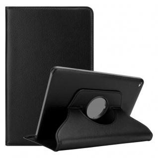 Cadorabo Tablet Hülle für Apple iPad AIR 2 2014 / iPad AIR 2013 in HOLUNDER SCHWARZ Book Style Schutzhülle mit Auto Wake Up mit Standfunktion und Gummiband Verschluss - Vorschau 1
