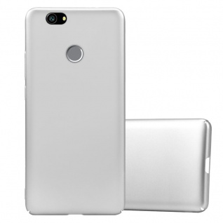 Cadorabo Hülle für Huawei Nova in METALL SILBER ? Hardcase Handyhülle aus Plastik gegen Kratzer und Stöße ? Schutzhülle Bumper Ultra Slim Back Case Hard Cover