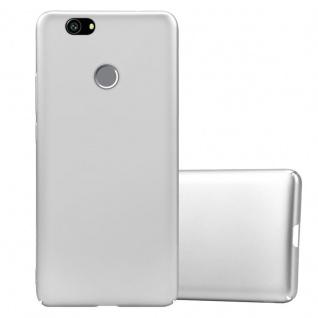 Cadorabo Hülle für Huawei Nova in METALL SILBER Hardcase Handyhülle aus Plastik gegen Kratzer und Stöße Schutzhülle Bumper Ultra Slim Back Case Hard Cover