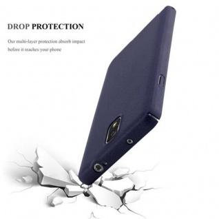 Cadorabo Hülle für Samsung Galaxy NOTE 3 in FROSTY BLAU - Hardcase Handyhülle aus Plastik gegen Kratzer und Stöße - Schutzhülle Bumper Ultra Slim Back Case Hard Cover - Vorschau 3