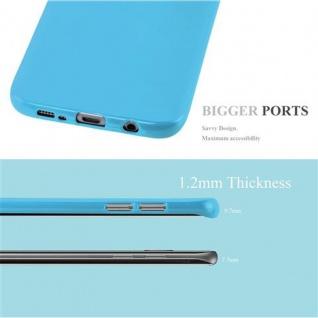 Cadorabo Hülle für Samsung Galaxy S7 EDGE in JELLY HELL BLAU ? Handyhülle aus flexiblem TPU Silikon ? Silikonhülle Schutzhülle Ultra Slim Soft Back Cover Case Bumper - Vorschau 3