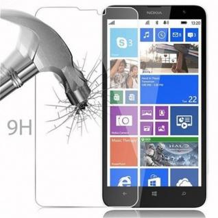 Cadorabo Panzer Folie für Nokia Lumia 1320 - Schutzfolie in KRISTALL KLAR - Gehärtetes (Tempered) Display-Schutzglas in 9H Härte mit 3D Touch Kompatibilität - Vorschau 3