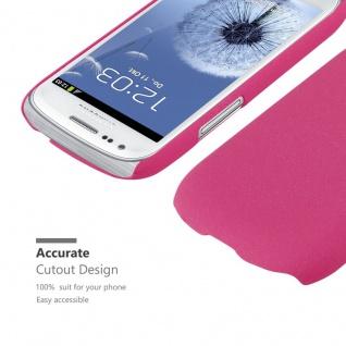 Cadorabo Hülle für Samsung Galaxy S3 MINI in FROSTY PINK - Hardcase Handyhülle aus Plastik gegen Kratzer und Stöße - Schutzhülle Bumper Ultra Slim Back Case Hard Cover - Vorschau 5