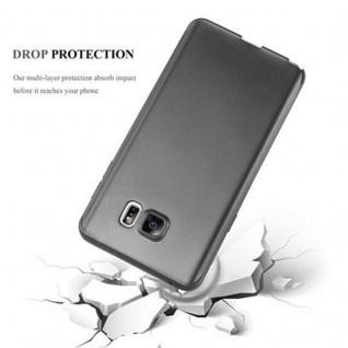 Cadorabo Hülle für Samsung Galaxy NOTE 5 in METALLIC GRAU - Handyhülle aus flexiblem TPU Silikon - Silikonhülle Schutzhülle Ultra Slim Soft Back Cover Case Bumper - Vorschau 4