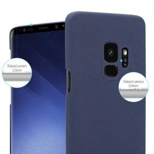 Cadorabo Hülle für Samsung Galaxy S9 in FROSTY BLAU - Hardcase Handyhülle aus Plastik gegen Kratzer und Stöße - Schutzhülle Bumper Ultra Slim Back Case Hard Cover - Vorschau 3